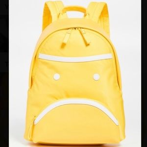 NWT Tory Burch Little Grumps Small Yellow Backpack